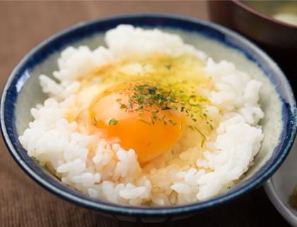卵かけご飯にかけるだけ