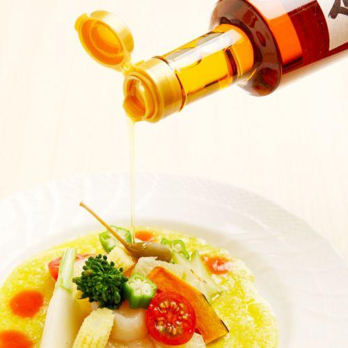 金ごま油はスープをもっと風味豊かに