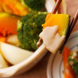 温野菜とねりごま