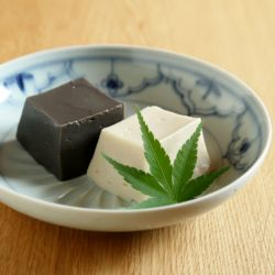 ねりごまでごま豆腐