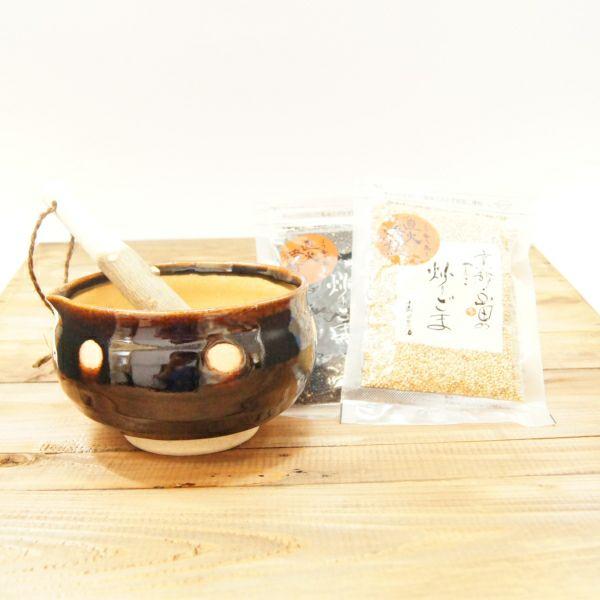 すり鉢セット「あめ水玉(3.5寸)」