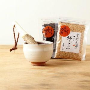 すり鉢セット「卯の花(3.5寸)」