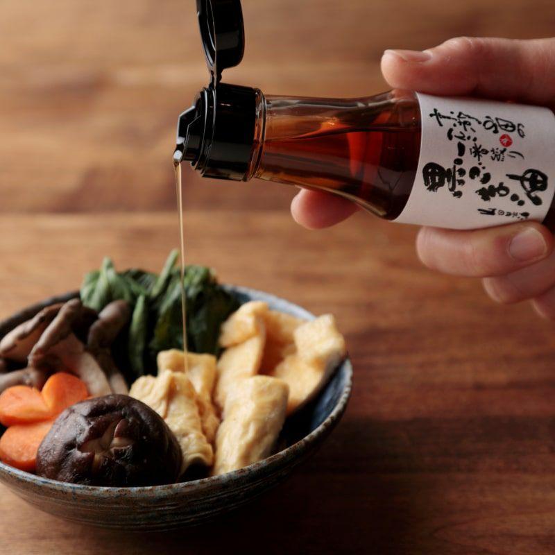 黒ごま油でお料理の風味付け
